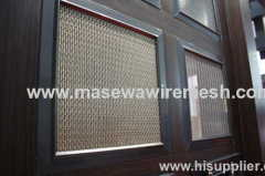 woven mesh wall decoration