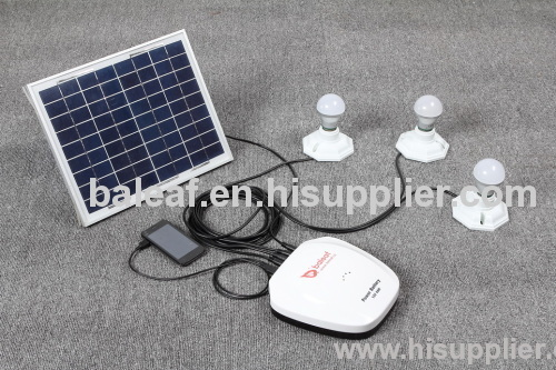 Portable Solar Lighting System Bal-C001 manufacturer from China