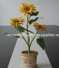 sunflower beautiful solar lighting