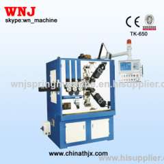TK-650 Hot Spring Coiling Machine in 2013