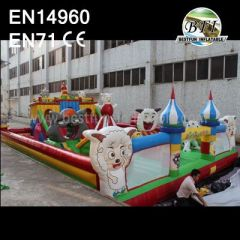 Animal Inflatable Fun City