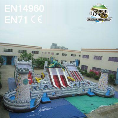 Inflatable Dinosaur Fun City