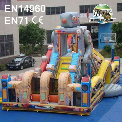 Funny Robot Inflatable Amusement Park