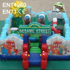 Hot Sale Inflatable Fun City