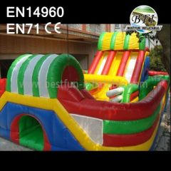 Adult Inflatables Obstacle Slide