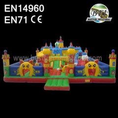 Customized Commercial Inflatable Park Equipment