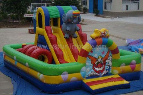 Big Inflatable Circus Park Toys