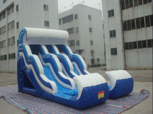 Double Lanes Wave Waterslides