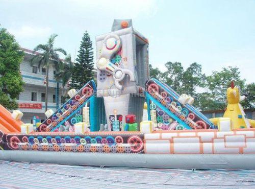 Giant Inflatable Robot Amusement Park