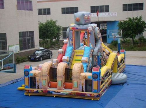 Giant Inflatable Robot Park