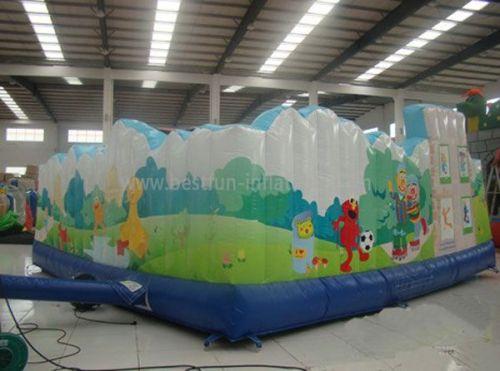 Inflatable Sesame Street Park