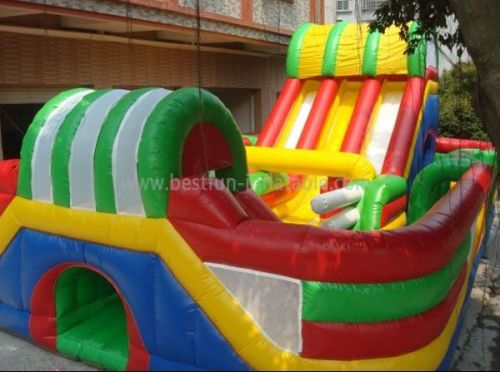 Inflatables Obstacle Fun City