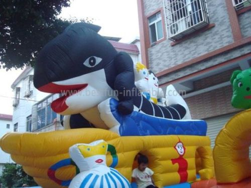 Whale Inflatable Playground 2013