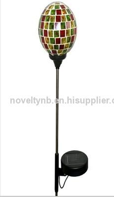 Glass Ball Solar Light with Stick