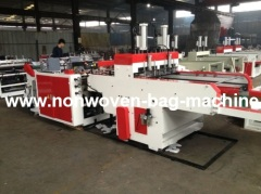 China T-shirt bag making machine with punch