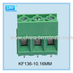PCB Printed Circuit Board terminal block ISO9001 pitch 10.16mm 600V 52A