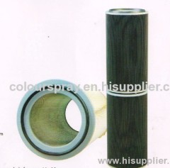 cartridge filter for swiss powder spray booth
