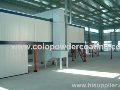 Overhead Conveyor Powder Coating Oven For Continuous Curing / Drying