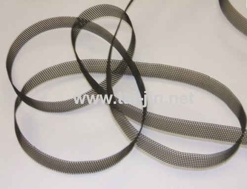 10mm/12.7mm/19mm/20mm/25mm/50mm Wide MMO Coated Mesh Ribbon from Xi'an Taijin