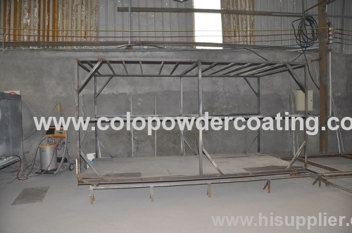 High quality powder coating oven plans