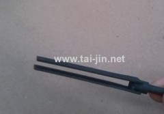 IrO2-RuO2 titanium anode for swimming pool disinfection