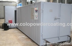 High quality building a powder coating oven