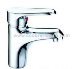 High Quality Single Lever Mono Basin Faucet with Solid and heavy brass construction