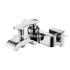 Fashion Style Wall Mounted Exposed Bath Shower Faucet