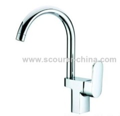 Single Lever Mono Kitchen Faucet brass body and Zinc Handle