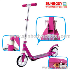 new aluminum two wheel kick foot scooter EN14619 standard