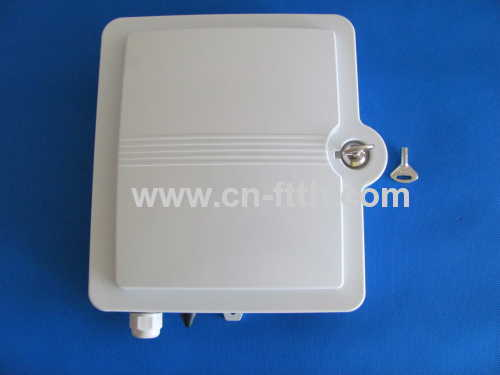 12 Core Outdoor Fiber Optic Terminal box with lock