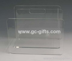 Decent acrylic clear of display frame for jewelry