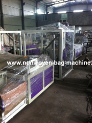 2012 Fashionable Non woven bag making machine manual