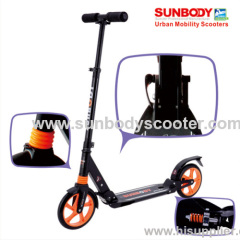 good quality 200mm EN14619 scooter for adults with suspensions