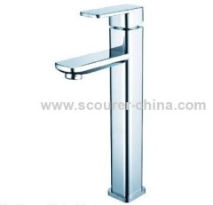 Deck Mounted Single Lever Extended Mono Basin Faucet
