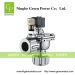 Pulse valve with Compression fitting