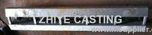 Carbon Steel Engineering Machinery Casting Plate