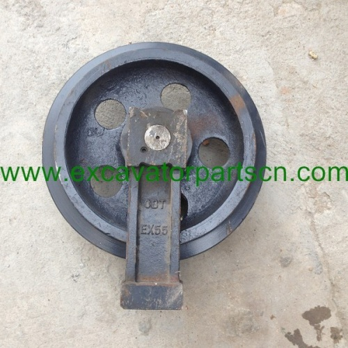 excavator parts front idler EX55