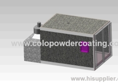 For powder baking powder coating oven for sale