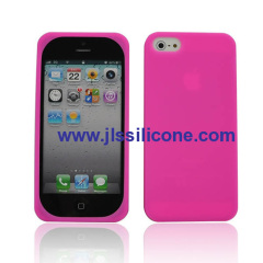 durable silicone mobile accessories cover for iPhone 5