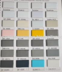 Peinture en poudre électrostatique pour métal