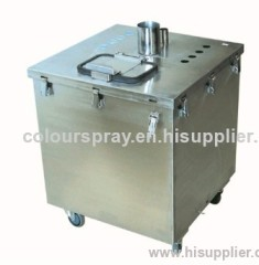Powder Hoppers for sieving equipment