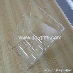 Jade clear cosmetic organizer acrylic holder