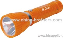 9985 model plastic led rechargeable torchlight