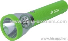 9986-1 PLASTIC LED RECHARGEABLE MINI FLASHLIGHT