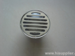 100mm round brass floor drain