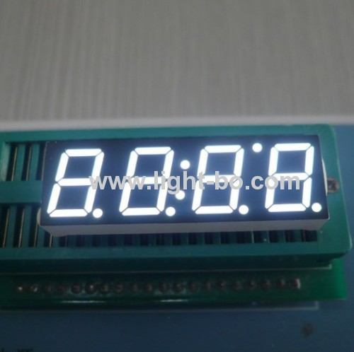 Triple digit 0.39 ( 10mm) common anode white 7 segment led display