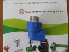 2013 hot sale PP-R fittings and pipe Male Elbow 90D from China