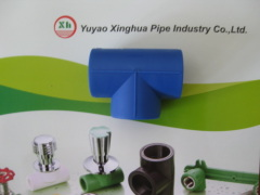 PP-R fittings and pipe Equal Tee from China