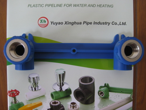 Hot sale PP-R fittings and pipe Double Female Elbow Group from China